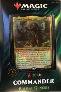 Commander Primal Genesis