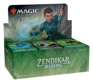 Zendikar Rising Draft boosters